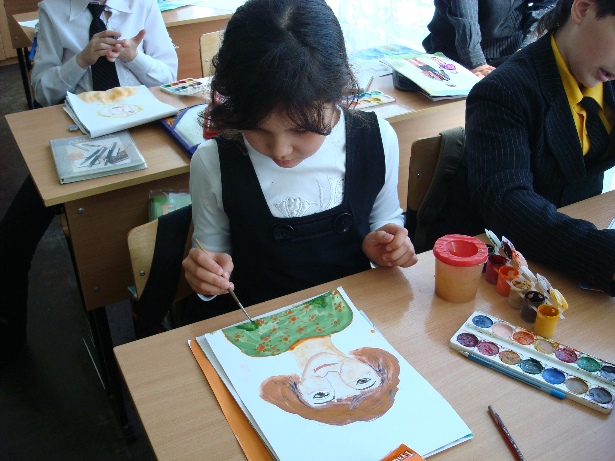 портфолио учителя изобразительного искусства: